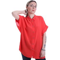 Textiel Dames Overhemden Calvin Klein Jeans K20K201950 Rood