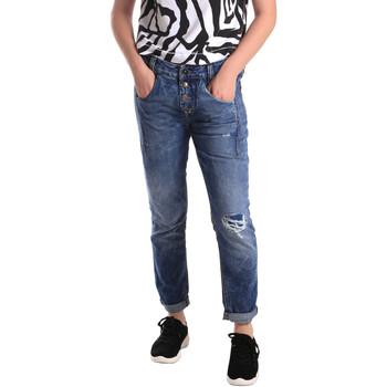 Textiel Dames Skinny jeans Fornarina BER1I27D785IM Blauw