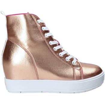 Schoenen Dames Hoge sneakers Fornarina PE17MJ9543I091 Roze
