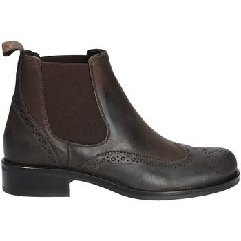 Schoenen Dames Laarzen Mally 4591 Bruin