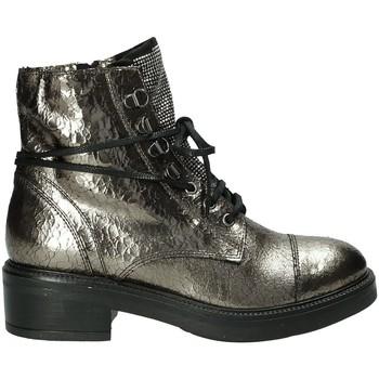 Schoenen Dames Laarzen Mally 6019M Grijs