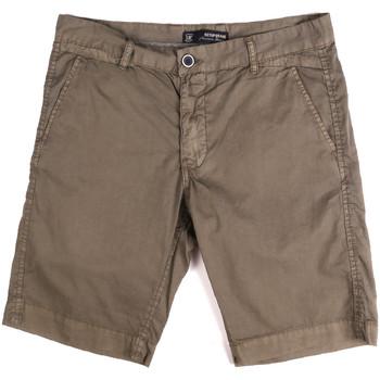Textiel Heren Korte broeken / Bermuda's Key Up 2P17A 0001 Bruin