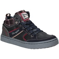 Schoenen Kinderen Hoge sneakers Wrangler WJ17225 Blauw