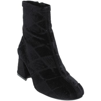 Schoenen Dames Enkellaarzen Apepazza SHR05 Zwart