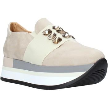 Schoenen Dames Instappers Grace Shoes 331004 Beige