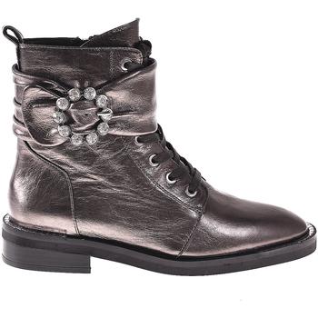 Schoenen Dames Enkellaarzen Elvio Zanon I8101N Grijs