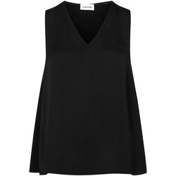 Textiel Dames Tops / Blousjes Calvin Klein Jeans K20K201807 Zwart