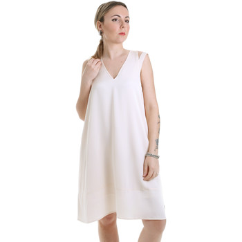 Textiel Dames Korte jurken Calvin Klein Jeans K20K202022 Beige