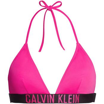 Textiel Dames Bikinibroekjes- en tops Calvin Klein Jeans KW0KW00883 Roze