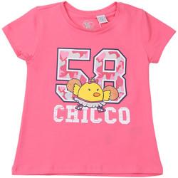 Textiel Kinderen T-shirts korte mouwen Chicco 09006955000000 Roze