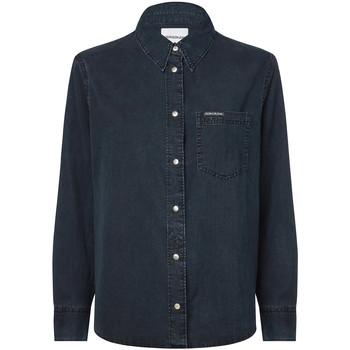 Textiel Dames Overhemden Calvin Klein Jeans J20J212778 Blauw