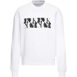 Textiel Dames Sweaters / Sweatshirts Calvin Klein Jeans J20J212984 Wit