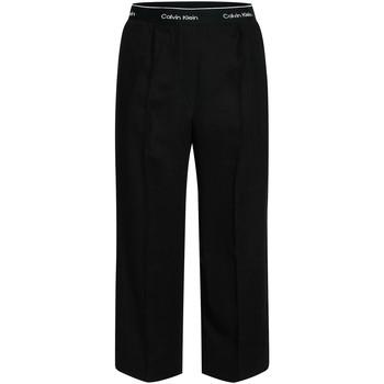 Textiel Dames Losse broeken / Harembroeken Calvin Klein Jeans K20K201766 Zwart