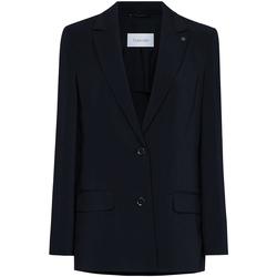 Textiel Dames Jasjes / Blazers Calvin Klein Jeans K20K201776 Zwart