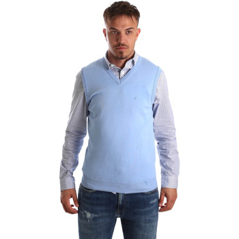 Textiel Heren Vesten / Cardigans Navigare NV00165 21 Blauw