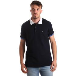 Textiel Heren Polo's korte mouwen Nero Giardini P972240U Bleu