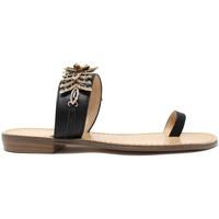 Schoenen Dames Slippers Gold&gold A19 GL303 Zwart