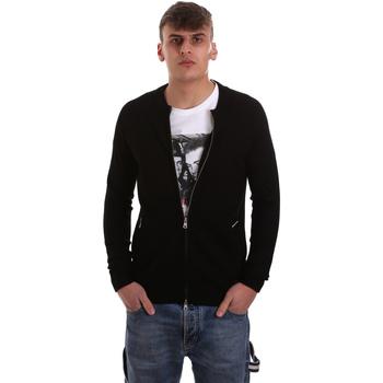 Textiel Heren Vesten / Cardigans Gaudi 921BU53015 Zwart