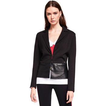 Textiel Dames Jasjes / Blazers Gaudi 921BD34001 Zwart