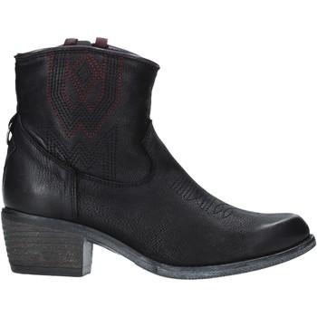 Schoenen Dames Enkellaarzen Wrangler WL92626A Zwart