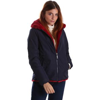 Textiel Dames Parka jassen Invicta 4431581/D Blauw