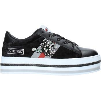Schoenen Kinderen Lage sneakers Sweet Years W19-SSK313 Zwart