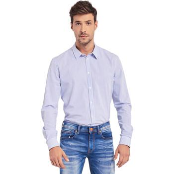 Textiel Heren Overhemden lange mouwen Gaudi 011BU45032 Wit