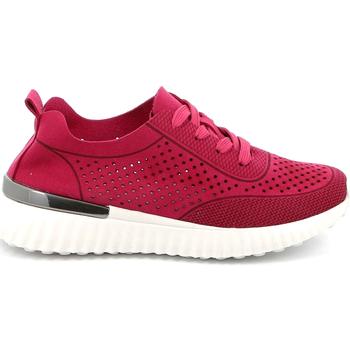 Schoenen Dames Lage sneakers Grunland SC4906 Roze