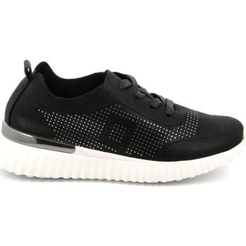Schoenen Dames Lage sneakers Grunland SC4905 Zwart