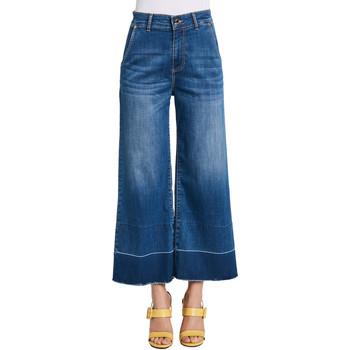 Textiel Dames Bootcut jeans Gaudi 011BD26030 Blauw