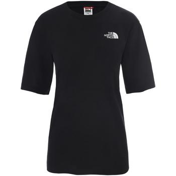Textiel Dames T-shirts korte mouwen The North Face NF0A4CESJK31 Noir