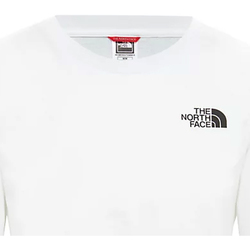 Textiel Dames T-shirts korte mouwen The North Face NF0A4CESFN41 Blanc