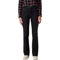 Textiel Dames Bootcut jeans Wrangler W233JK45A Noir