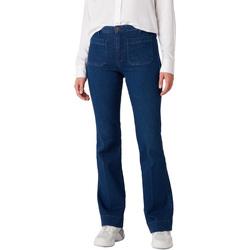 Textiel Dames Jeans Wrangler W233JN69F Blauw