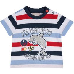 Textiel Kinderen T-shirts korte mouwen Chicco 09006876000000 Blauw