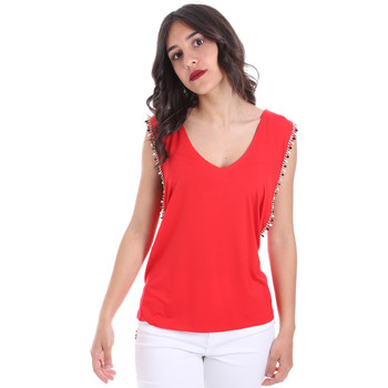 Textiel Dames Tops / Blousjes Gaudi 011FD64008 Rood
