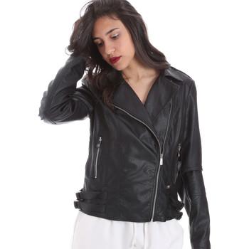 Textiel Dames Leren jas / kunstleren jas Gaudi 011BD38006 Zwart
