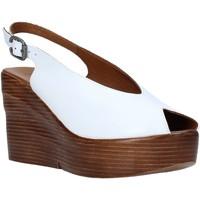 Schoenen Dames Sandalen / Open schoenen Bueno Shoes Q6100 Wit