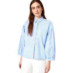 Textiel Dames Overhemden Liu Jo WA0421 T4169 Blauw