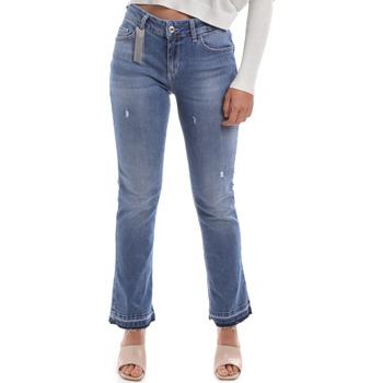 Textiel Dames Bootcut jeans Liu Jo UA0022 D4448 Bleu