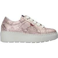 Schoenen Dames Lage sneakers CallagHan 14906 Roze