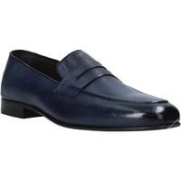 Schoenen Heren Mocassins Exton 1020 Blauw