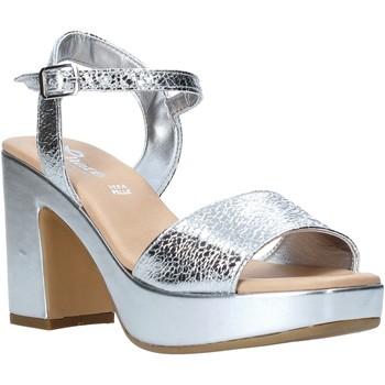 Schoenen Dames Sandalen / Open schoenen Grace Shoes L220 Zilver