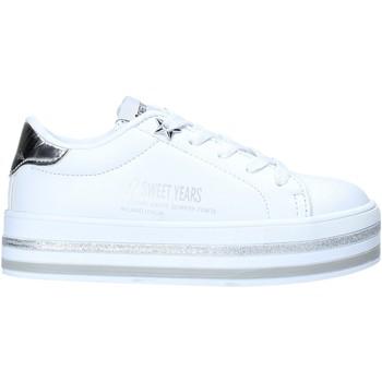 Schoenen Kinderen Lage sneakers Sweet Years S20-SSK414 Wit