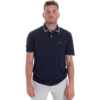 Textiel Heren Polo's korte mouwen Les Copains 9U9020 Blauw
