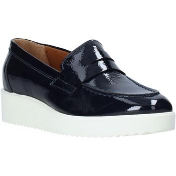 Schoenen Dames Mocassins Maritan G 161407MG Blauw