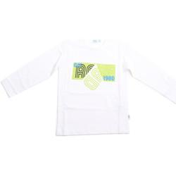 Textiel Kinderen T-shirts met lange mouwen Melby 70C5524 Wit