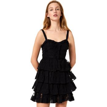 Textiel Dames Korte jurken Liu Jo FA0312 T4190 Noir