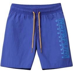 Textiel Kinderen Zwembroeken/ Zwemshorts Napapijri NP0A4E4F Bleu