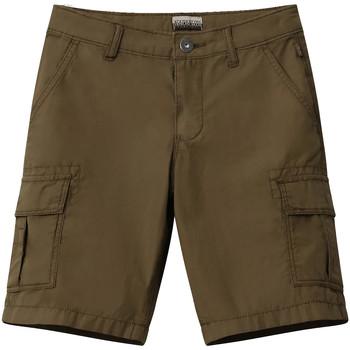 Textiel Kinderen Korte broeken / Bermuda's Napapijri NP0A4E4G Vert